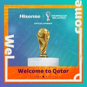 Die FIFA Fußball-Weltmeisterschaft Katar 2022 findet vom 21. November bis zum 18. Dezember 2022 statt. Hisense wird als Sponsor prominent vertreten sein.