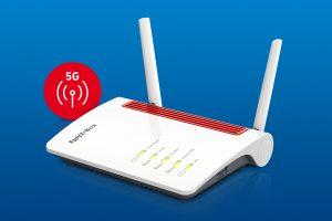 Mit der neuen FRITZ!Box 6850 5G steht der Marktstart der ersten 5G-FRITZ!Box in Österreich vor der Tür.