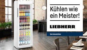 """Mit """"limitierten Flaschenkühlern zum Sonderpreis"""" startet Liebherr anlässlich der Fußball-EM."""