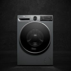 Bei der heute vorgestellten Beko EcoTub-Waschmaschine wird der Wschbottich aus recycelten PET-Flaschen hergestellt.