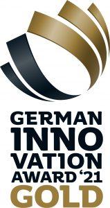 """Das Meeresklimagerät maremed® von Beurer wurde mit dem """"German Innovation Award 2021"""" und zusätzlich mit dem """"Goldstatus für herausragende Innovationsleistung"""" ausgezeichnet."""