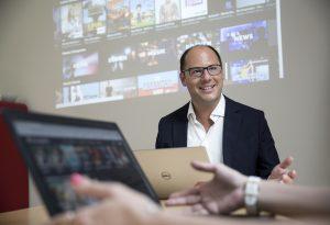 Für Eviso Austria-GF Peter Kail zeigt HD Austria schon heute, wie das Fernsehen von morgen aussieht.