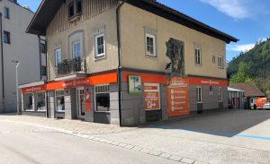 Der neue Standort von Expert Mühlthaler im Untermarkt von St. Johann im Pongau.