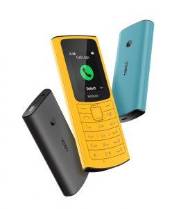 Das Nokia 110 4G ist ein einfaches Feature Phone, das allerdings auch Gespräche VoLTE ermöglicht und damit auch HD-Sprachqualität. Vom kleineren Bruder Nokia 105 4G unterscheidet es sich durch ein QVGA-Kamera.