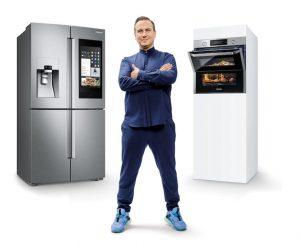 Samsung hat sich mit Tim Raue einen der besten und bekanntesten deutschen Köche als Markenbotschafter für seine Hausgeräte geangelt. Ein genialer Schachzug, wie ich finde. (Foto: Samsung)
