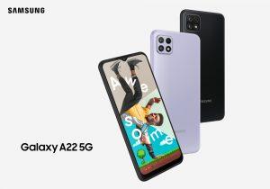 Mit dem Galaxy A22 5G erweitert Samsung sein 5G-Sortiment.