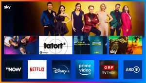 Highlights der Mediatheken von ORF, ARD, ZDF und jetzt auch TVNOW sind in einer Übersicht im neu geschaffenen TV-Mediatheken Bereich verfügbar.