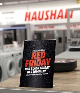 """Am 27. Juni startet MediaMarkt eine Woche lang mit dem """"Sommer Red Friday"""""""