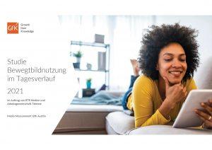 """Heute wurde die """"Bewegtbildstudie 2021"""" von RTR Medien und AGTT präsentiert."""