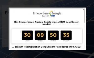 Wenn das EAG noch vor dem Sommer beschlossen werden soll, ist Eile geboten – wie der EA-Countdown zeigt.