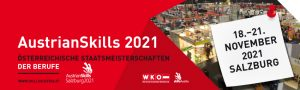 Im November stehen die österreichischen Staatsmeisterschaften der Berufe (AustrianSkills) am Programm. Die Sieger vertreten Österreich bei den internationalen Bewerben EuroSkills und WorldSkills.