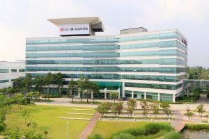 Das LG Magna e-Powertrain Headquarter in Incheon.