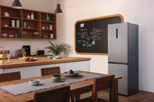 """Gorenje sagt: """"Ein Griff in den Kühlschrank wird dank innovativer GardenFresh Technologie wie zu einem Griff in den Gemüsegarten: Frisch, knackig und voller Geschmack."""""""