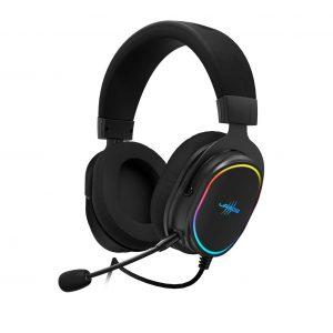 """Das dynamische 7.1-Overhead-Headset """"SoundZ 800"""" von uRage mit 7.1-Virtual-Surround-Sound lässt Spielgeräusche noch realistischer erscheinen."""