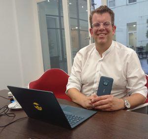 Eric Matthes, General Manager DACH HMD Global, hat mit elektro.at über die Positionierung der Nokia Smartphones in Richtung Nachhaltigkeit gesprochen.