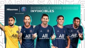 Hisense geht ins zweite Jahr der Partnerschaft mit dem Fußballverein Paris Saint-Germain.