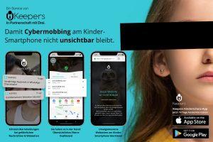 Drei hat eine exklusive Partnerschaft mit dem österreichischen Start-up Keepers abgeschlossen. Dessen App soll mithelfen, Kinder und Jugendliche im Web vor Cybermobbing und unangemessenen Inhalten zu schützen.