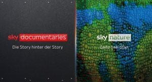 Sky Nature und Sky Documentaries sind ab 9. September linear sowie auf Abruf über Sky Q und Sky X empfangbar.