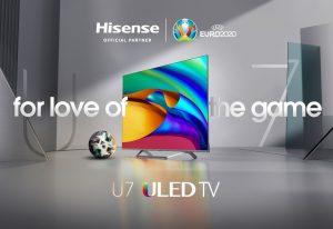 Als offizieller globaler Sponsor der UEFA EURO 2020 hat Hisense mehrere Marketing-Kampagnen gestartet und u.a. den Umsatz seiner Hero Products um 209% gesteigert, den Umsatz mit Laser-TVs sogar mehr als verzehnfacht.