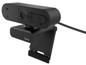"""Hama bietet mit der neuen """"C-600 Pro"""" eine Full-HD-Webcam samt Stereo-Mikrofon für scharfes Bild und klaren Ton."""