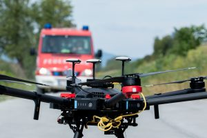 Drohnen statt Hubschrauber - Unmanned Life und Magenta präsentierten dazu eine Such- und Rettungslösung mit autonomen Robotern.