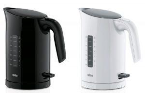 Die neuen PurEase Wasserkocher-Modelle WK 3100 und WK 3000 von Braun.