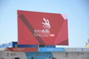 Bei sonnigem Herbstwetter startete der erste Wettkampftag der EuroSkills gestern in Graz.