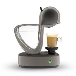 Die neue Nescafé Dolce Gusto Infinissima Touch fällt durch ihr außergewöhnliches Design auf. (Bilder: Krups)
