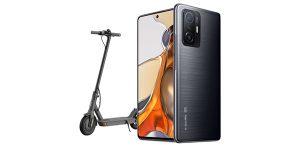 Zum Stapellauf des Xiaomi 11T Pro 5G Smartphones bei Magenta gibt es den Xiaomi Mi Electric Scooter Essential gratis dazu.