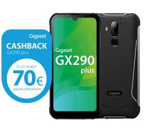 Kunden, die im Oktober 2021, ein Gigast GX290 kaufen, können sich 70 Euro pro Gerät zurückholen.