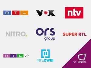 Die Sender RTL Austria, VOX Austria, ntv Austria, NITRO Austria, SUPER RTL Austria, RTLup Austria und RTLZWEI Austria sind ab sofort neben Antenne und Satellit auch im Streaming-Angebot von simpliTV verfügbar.